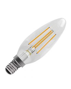 BELL 4W LED Dimmable Filament Candle Bulb - SES, Clear, 2700K