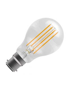 BELL 6W LED Dimmable Filament GLS Bulb - BC, Clear, 2700K