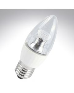 BELL 4W LED 35mm Dimmable Candle Bulb Clear - ES, 4000K