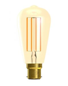 BELL 4W LED Vintage Squirrel Cage Dimmable - BC, Amber, 2000K