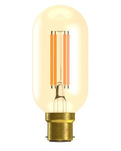 BELL 4W LED Vintage Tubular Lamp Dimmable - BC, Amber, 2000K