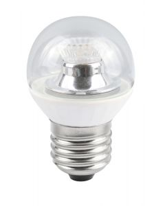 BELL 4W LED 45mm Dimmable Round Bulb Ball Clear - ES, 2700K