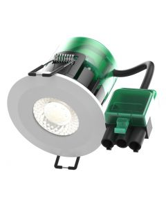 Bell 7w IP65 FireStay Integrated LED Downlight With Colour Temperature Select