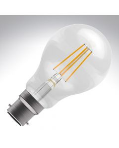 BELL 6W LED Filament GLS Bulb - BC, Clear, 2700K