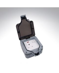 1 gang, 13amp single socket IP66