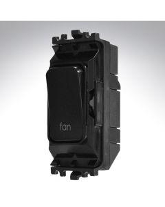 Black Grid Switch 20A Fan