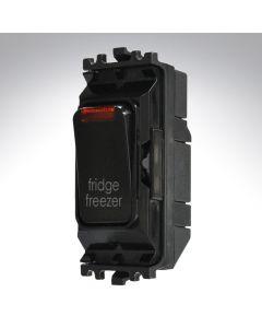 Black Grid Switch + Neon 20A Fridge Freezer