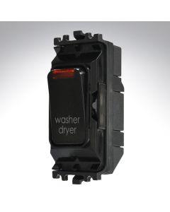 Black Grid Switch + Neon 20A Wash Dryer