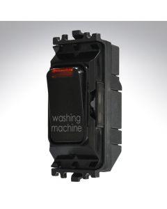 Black Grid Switch + Neon 20A Washing Machine