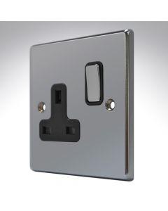 Hartland Black Nickel Single Socket