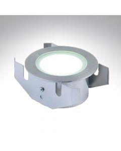 IP68 Stainless Steel Frosted Marker Light Round LED Cool White