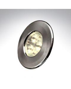 Collingwood H2 Pro Round Brushed Steel Twist Lock Bezel
