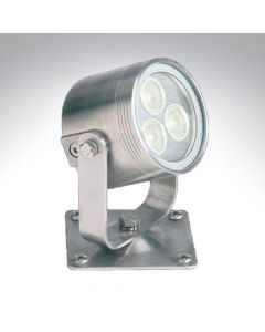 Collingwood Stainless Steel 7w High Output Universal LED Light Warm White