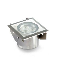 Collingwood GL041 F NW Square 3W LED Ground Light