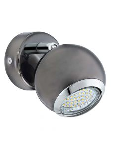 Eglo 31005 Bimeda Black Nickel LED Spot Wall Light