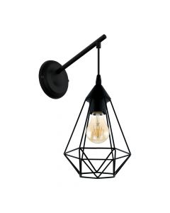 Eglo 49081 Tarbes Wall Light Black