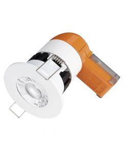Enlite DE6PRO 6w IP65 Dimmable LED Downlight Warm White