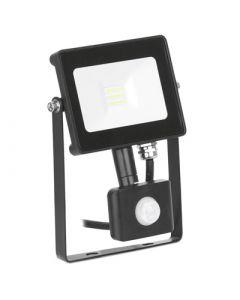 Enlite Quazar 10w Adjustable Driverless IP65 Floodlight With PIR