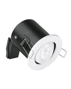 Enlite Adjustable Fire Rated Downlight White