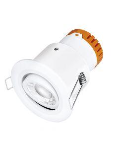 Enlite DE82W White Adjustable LED Downlight Cool White