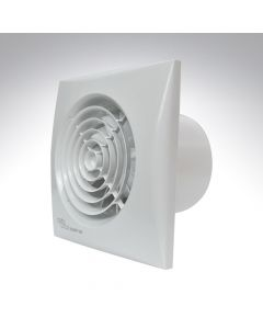 Envirovent Silent 4 Inch Axial Bathroom Humidistat + Timer Fan