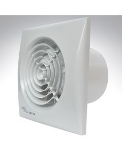 Envirovent Silent 6 Inch Axial Kitchen Humidistat + Timer + Pull Cord Fan
