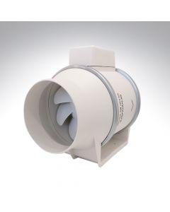 Envirovent Sound Attenuating 4 Inch Inline Centrifugal Fan