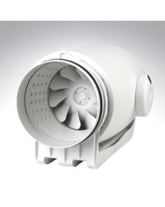 Envirovent Sound Attenuating 4 Inch Professional Inline Centrifugal Timer  Fan