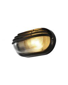 Forum Coast Puck Oval E27 Eyelid Bulkhead Black