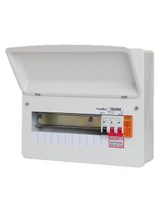 Fusebox 10 Way RCBO Consumer Unit with Surge Protection