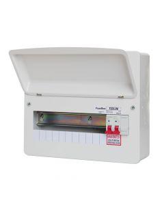 Fusebox 11 Way RCBO Main Switch Consumer Unit