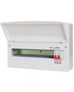 Fusebox 15 Way RCBO Main Switch Consumer Unit