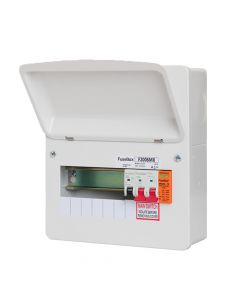 Fusebox 6 Way RCBO Consumer Unit with Surge Protection