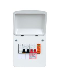 Fusebox Type A 32a EV Charger Distribution Board with Surge Protection
