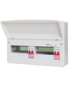 Fusebox 14 Way (7/7) Dual Tariff Consumer Unit