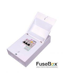 Fusebox F100GR 63A 30mA RCD + 6a & 16a MCB's Garage Unit