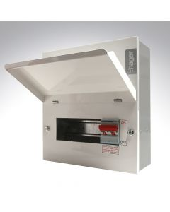 Hager 6 Way Metal Consumer Unit