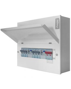 Hager Design 10 6 Way RCCB Consumer Unit
