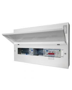 Hager 18th Edition Consumer Unit 14 Way with SPD