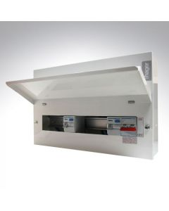 Hager Dual 100a RCD High Integrity Consumer Unit 16 Way