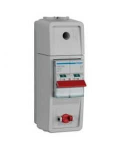 Hager VC02SW Meter Box Switch