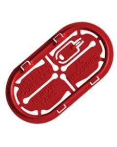 Hager VM02CE Insulated Cable Entry Plate