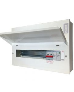 Hager VML108SPD 8 Way Main Switch Consumer Unit + Surge Protection