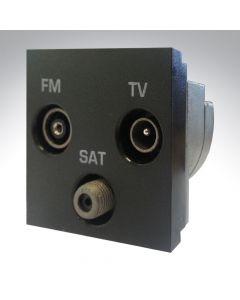 Hamilton TV/Satellite/FM Triplexer Module Black