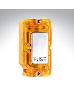 Hamilton Grid 13A Fuse Module with Amber Neon