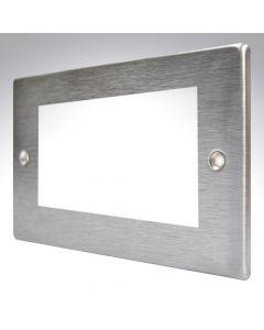Hamilton Hartland Stainless Steel 4 Gang Modular Plate