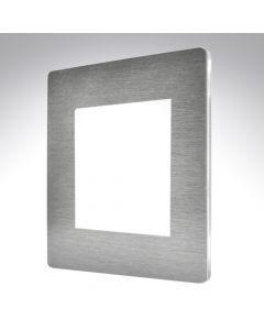 Sheer CFX Satin Steel 2 Gang Modular Plate