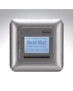 Heatmat Programmable Thermostat Silver