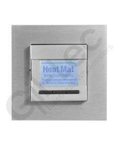 Heatmat Programmable Thermostat Aluminium