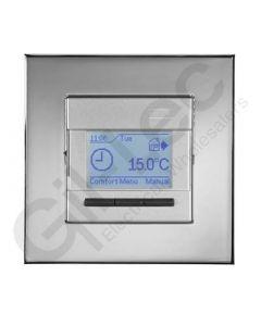 Heatmat Programmable Thermostat Chrome